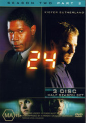 24 - Season 2: Part 2 (3 Disc Set) on DVD