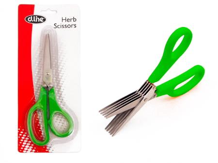 Five Bladed Herb Scissors