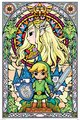 The Legend Of Zelda - Stained Glass Poster (532)