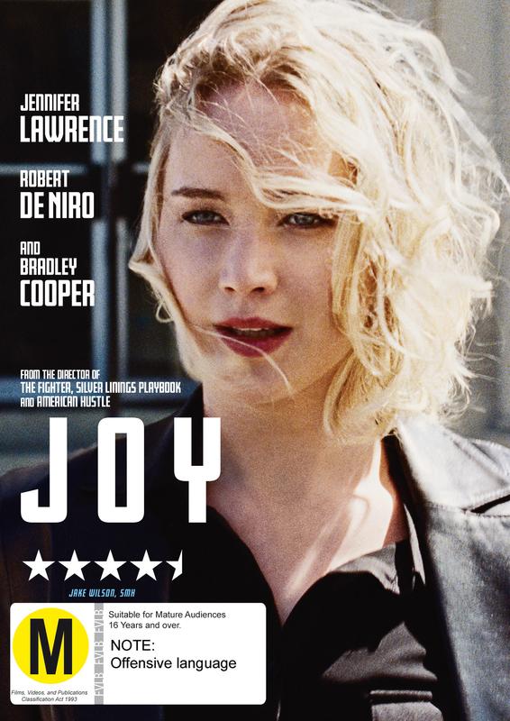 Joy on DVD