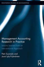 Management Accounting Research in Practice by Petri Suomala