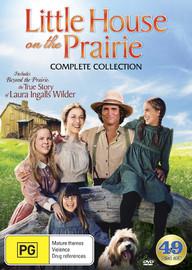 Little House On The Prairie - Complete Collection [Digitally Remastered Edition] (49 Disc Set) on DVD
