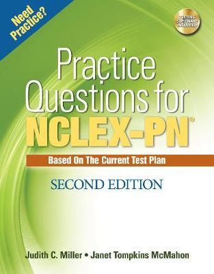 Practice Questions for NCLEX-PN by Judith C Miller, RN, MSN image