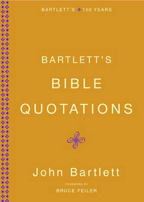 Bartletts Bible Quotations by John Bartlett image