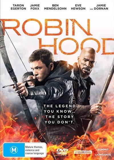 Robin Hood (2018) on DVD