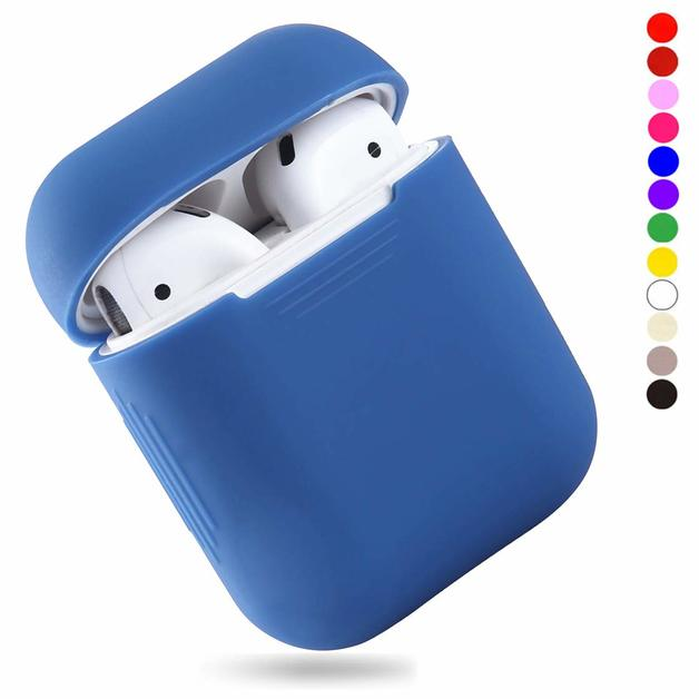 Slim Case for AirPods 2016/2019 Not Wireless - Light Blue