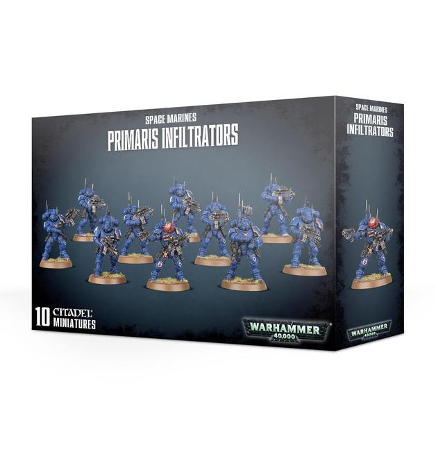 Warhammer 40,000: Space Marines Primaris Infiltrators
