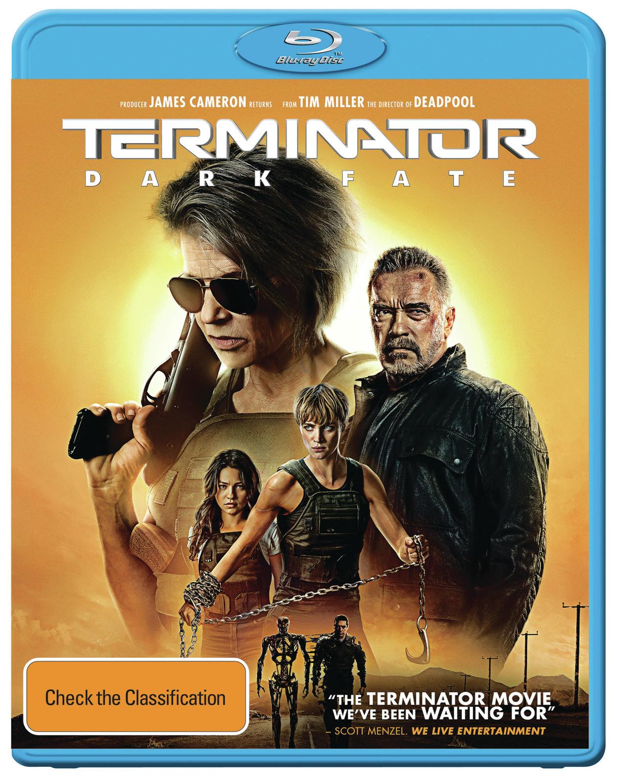 Terminator: Dark Fate on Blu-ray image