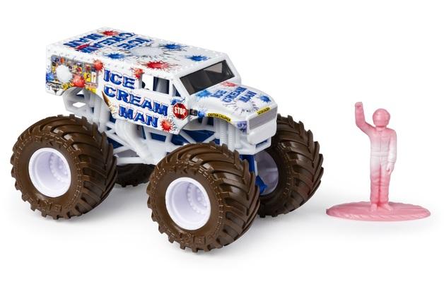 Monster Jam: 1:64 Scale Diecast Truck - Ice Cream Man