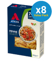 Atkins Low Carb Penne Pasta 250g (8 Box Value Pack)