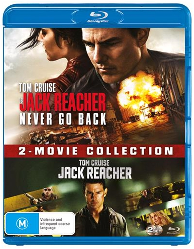 Jack Reacher: 2-Movie Collection on Blu-ray