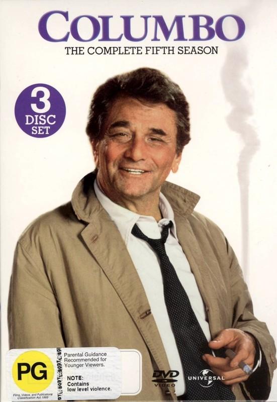 Columbo - Complete Season 5 (3 Disc Set) on DVD