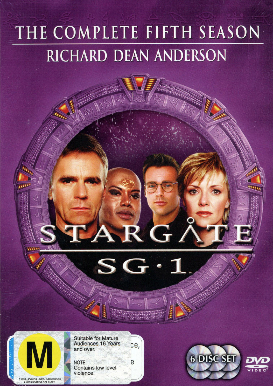 Stargate SG-1 - Season 5 (6 Disc Set) (New Packaging) on DVD image