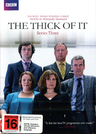 The Thick of It - Series 3 on DVD