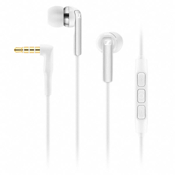 Sennheiser CX 2.00i Earphones (White)