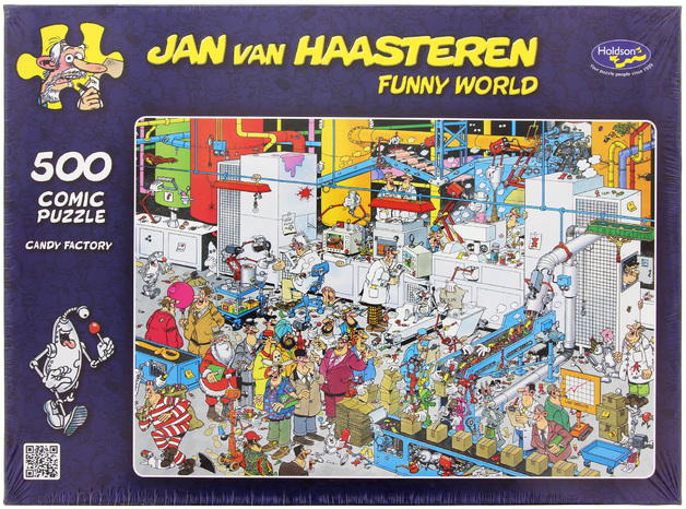 Van Haasteren: 500pc Candy Factory Puzzle