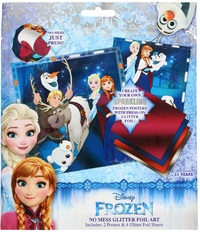 Disney's Frozen: No Mess Glitter Foil Art Kit