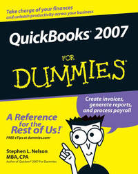 QuickBooks 2007 For Dummies by Stephen L. Nelson