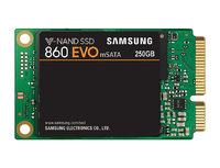 250GB Samsung 860 EVO V-NAND mSATA SSD SATA III 6GB/s, R/W(Max) 550MB/s/520MB/s