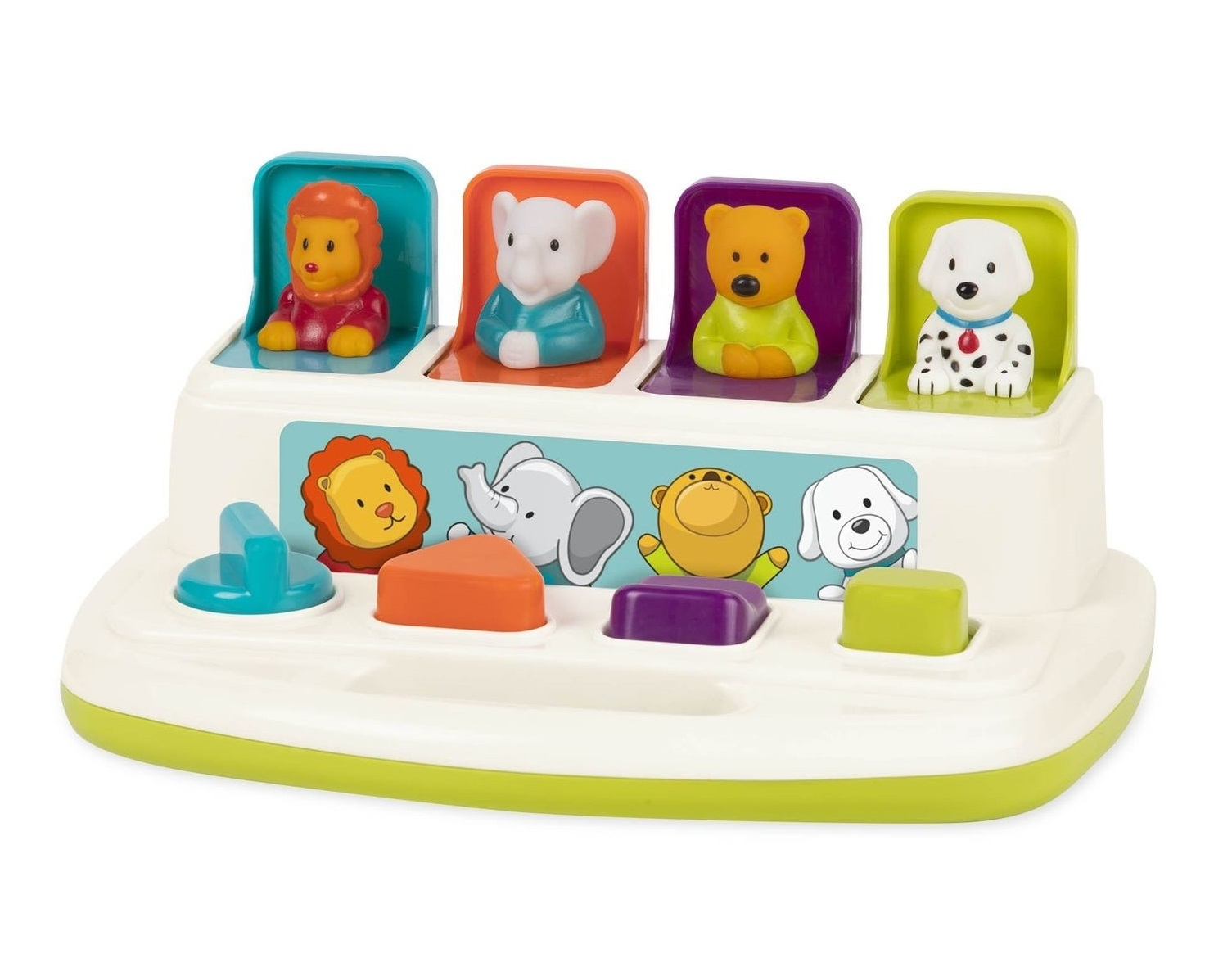 Battat: Pop-up Pals - Cause & Effect Learning Toy image