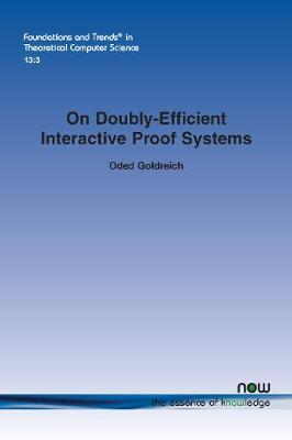On Doubly-Efficient Interactive Proof Systems by Oded Goldreich image