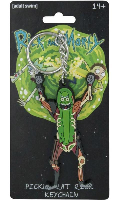 Rick and Morty: Pickle Rat Rick Keychain