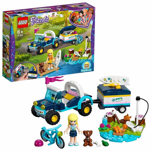 LEGO Friends: Stephanie's Buggy & Trailer (41364)