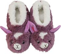 Slumbies Llama Furry Foot Pals Slippers (M)