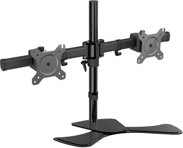 Gorilla: Arms Dual Freestanding Monitor Mount
