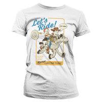 Jessie and Woody: Let's Ride Girly Tee - White (Medium)