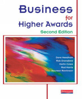 Business for Higher Awards by David Needham image