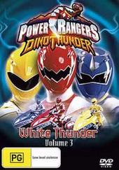 Power Rangers Dinothunder: Vol 3: White Thunder on DVD