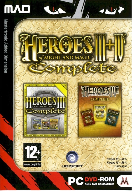 Heroes of Might & Magic III & IV Complete Double Pack for PC Games