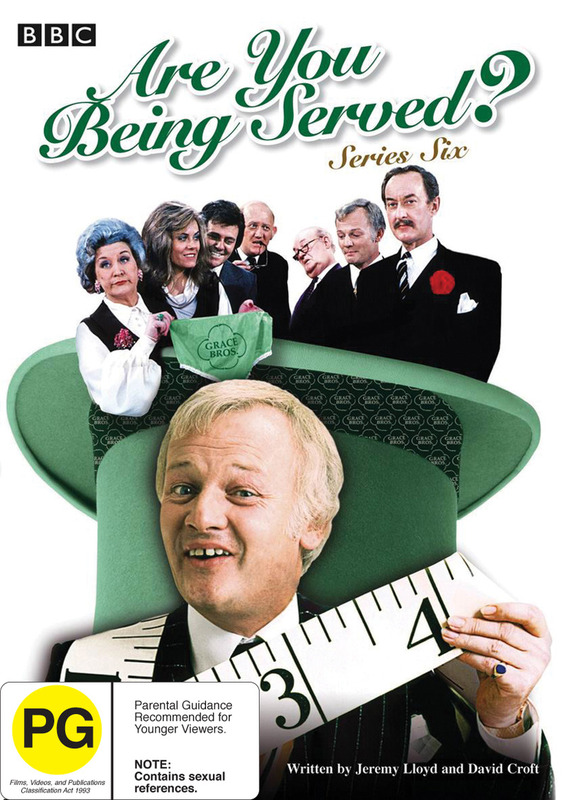 Are You Being Served? - Series 6 on DVD
