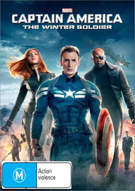 Captain America: The Winter Soldier on DVD