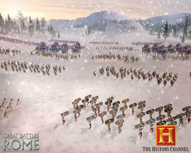 History Channel: Great Battles of Rome for PSP image