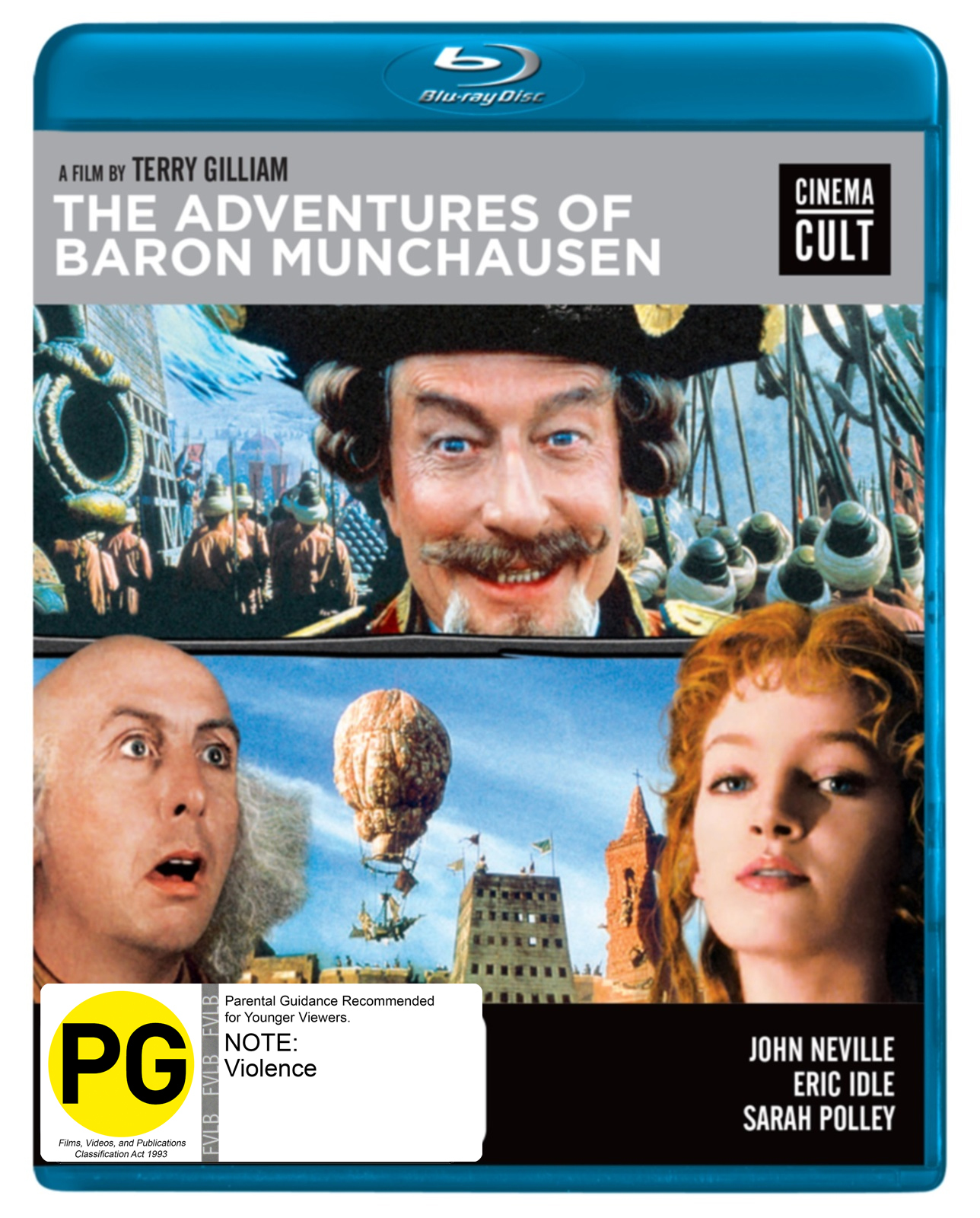 Adventures Of Baron Munchausen on Blu-ray image