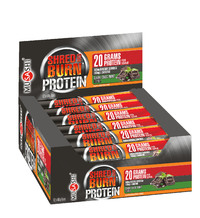 Musashi Shred & Burn Protein Bars - Chocolate Mint (12x60g)