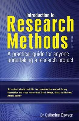 Introduction to Research Methods 4th Edition by Catherine Dawson image