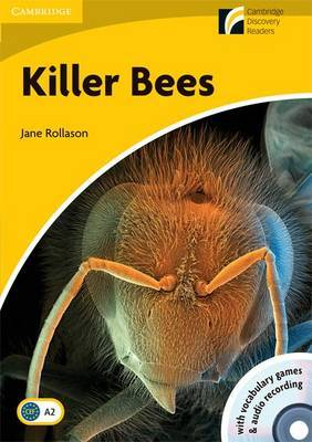 Killer Bees Level 2 Elementary/Lower-intermediate American English Book with CD-ROM and Audio CD Pack: Level 2 by Jane Rollason image