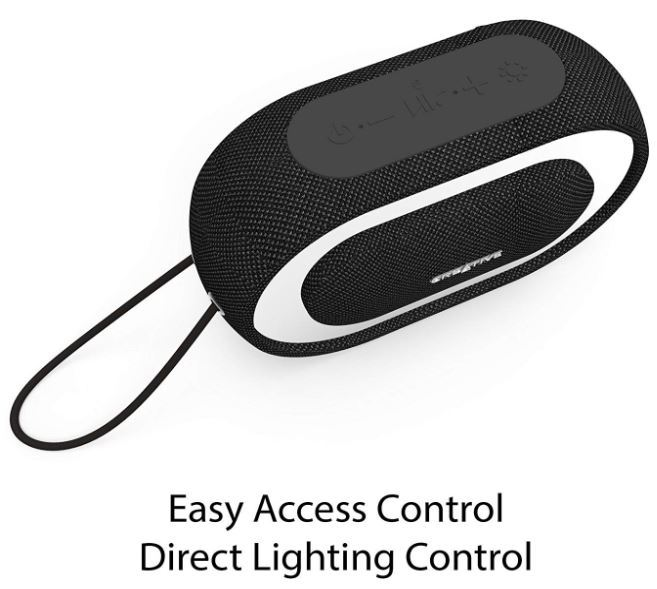 Creative Halo Wireless Speaker - Black image
