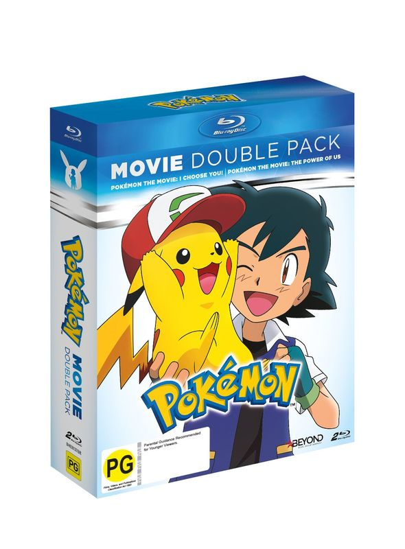 Pokemon: Movie Double Pack: I Choose You & The Power Of Us on Blu-ray