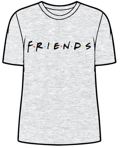 Friends: Logo - Adult T-Shirt (Size: M)