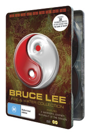 Bruce Lee Fire and Water Tin on DVD