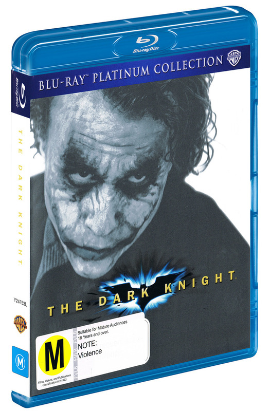 The Dark Knight - Platinum Collection on Blu-ray