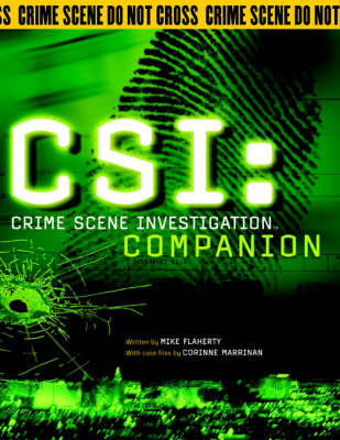 CSI: Crime Scene Investigation Companion by Mike Flaherty image