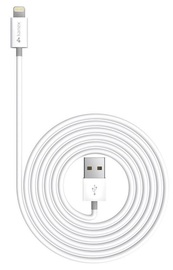 Kanex: Charge and Sync Cable with Lightning Connector 4FT - White