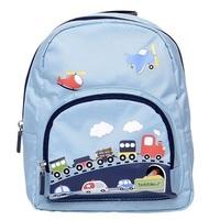 BobbleArt Toddler Backpack - Traffic