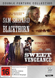 Western Double Pack: Blackthorn & Sweet Vengeance on DVD