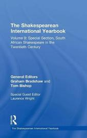 The Shakespearean International Yearbook by Graham Bradshaw image